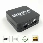 MP3 USB адаптер Wefa WF-605 для RENAULT (USB / AUX) - читает FLAC!!!